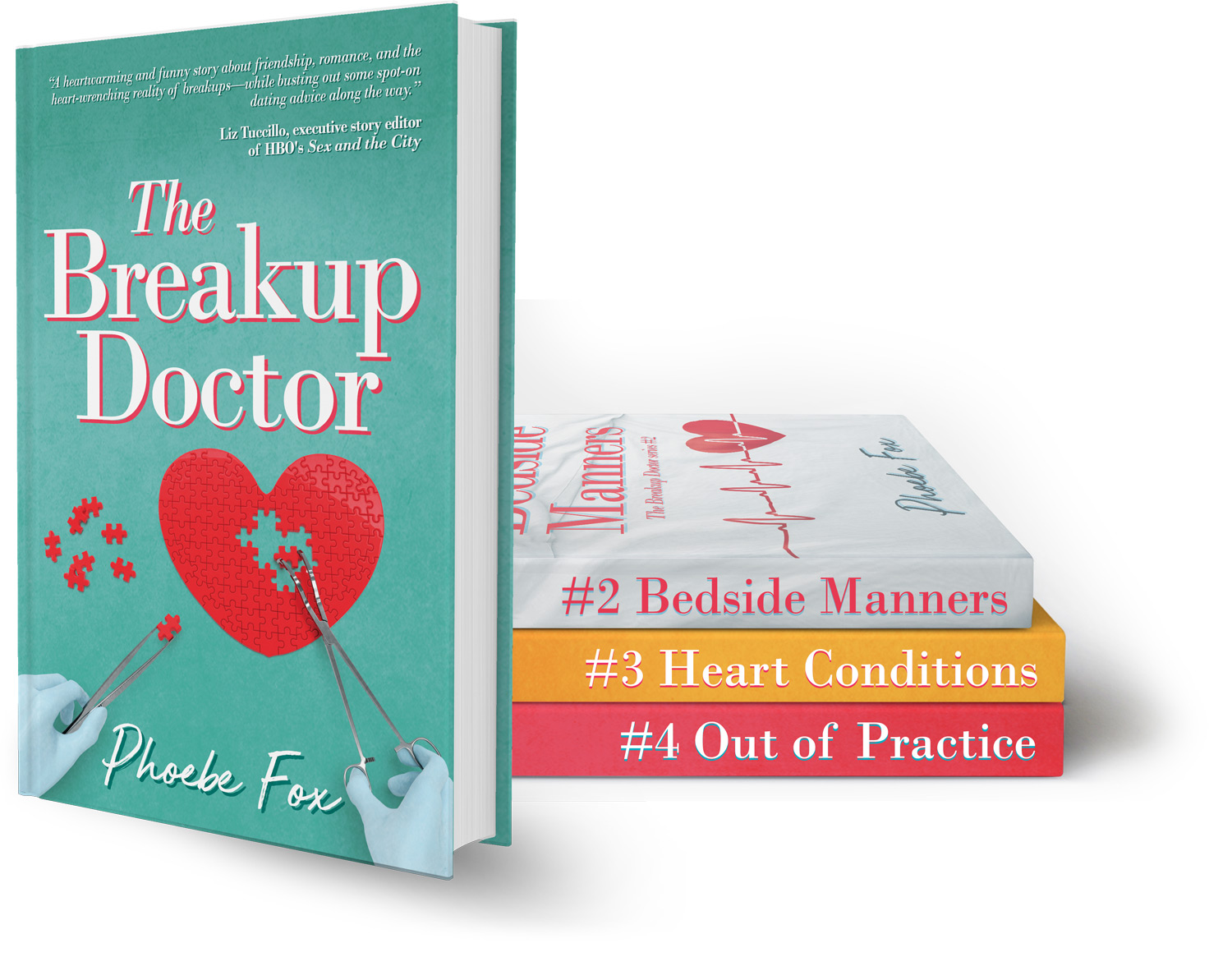 The Breakup Doctor series by Phoebe Fox