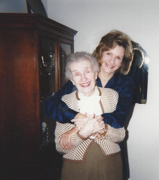 Millie & my mom